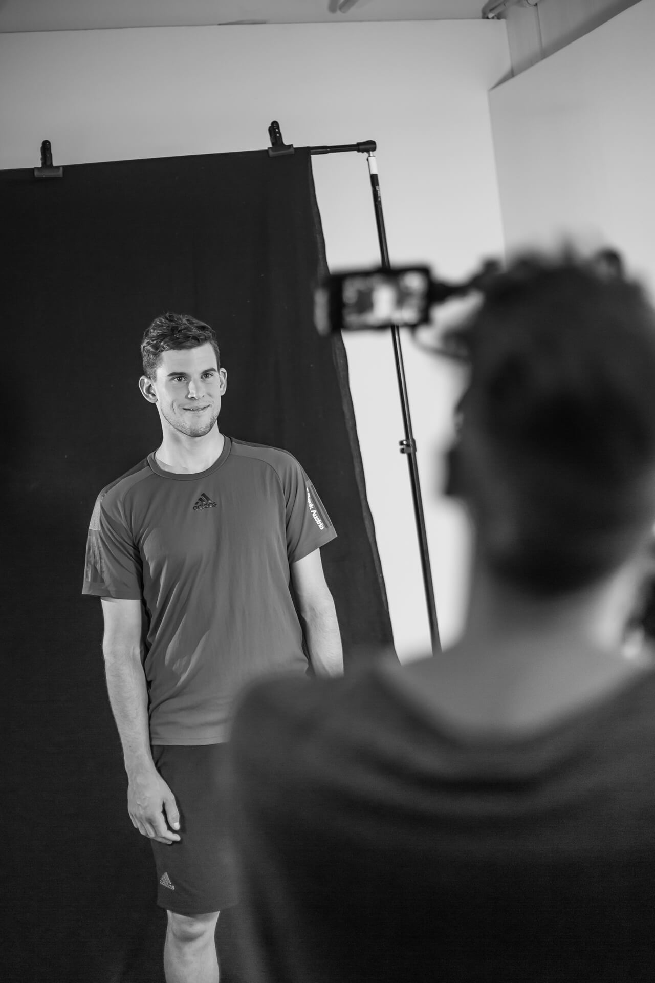 Dominic Thiem im Studio