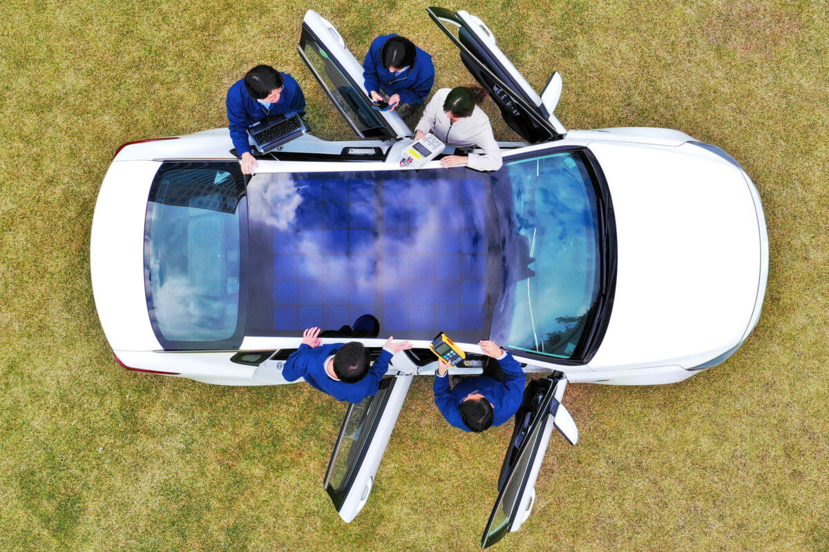 Hyundai-Motor-Group-reveals-solar-charging-technology