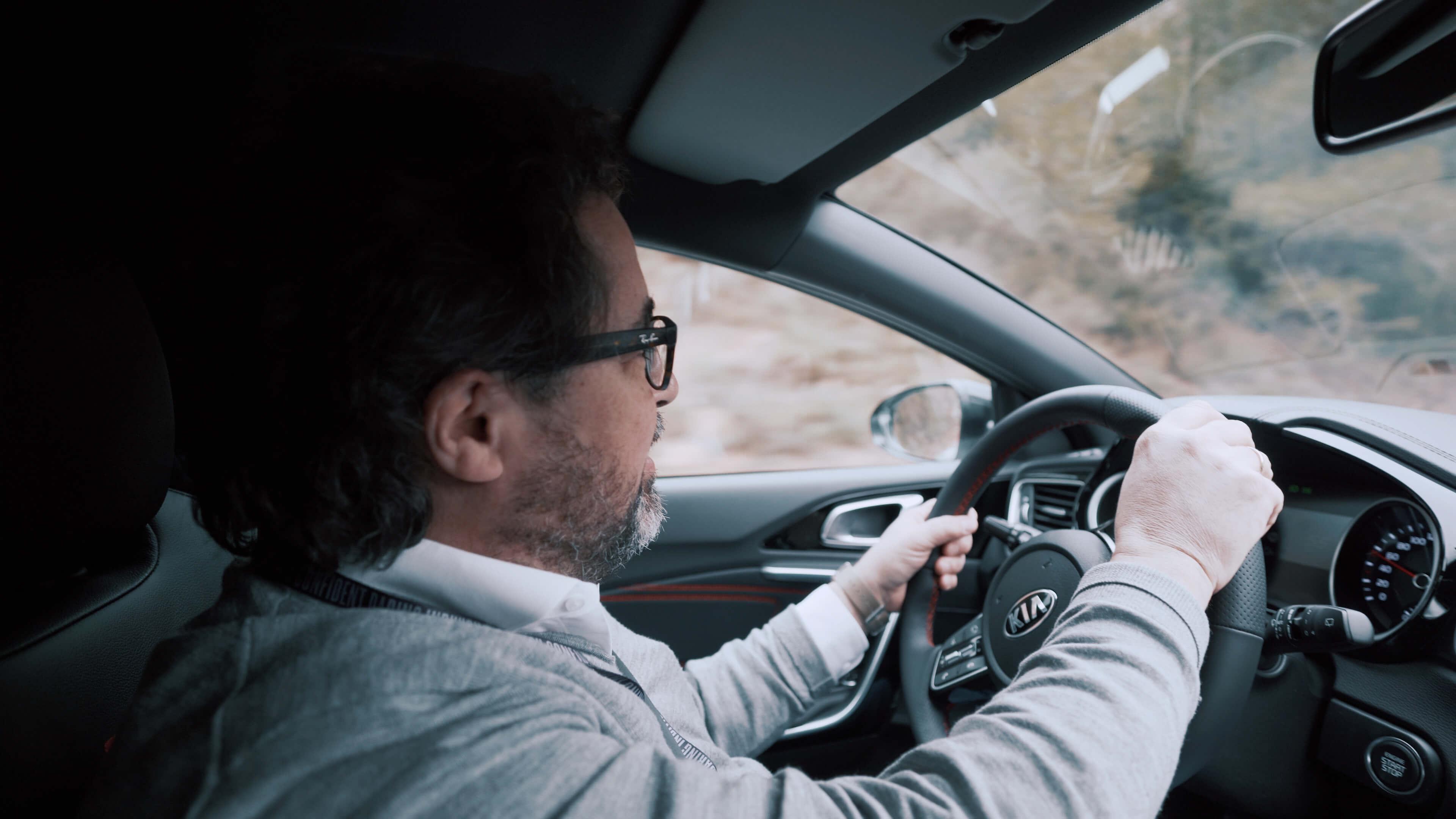 Christoph Cecerle testet den Kia ProCeed