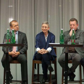 Podiumsdiskussion Teilnehmer