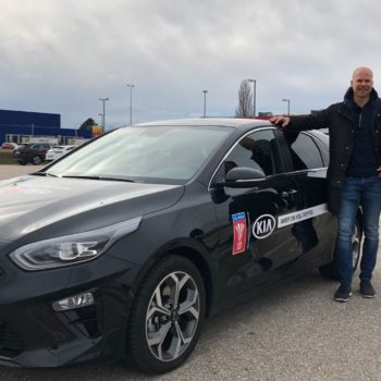 Johnny Ertl und Roman Wallner Kia Ceed