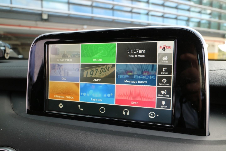 Kia Stinger Touchscreen © Kia Motors Australia & Fujitsu