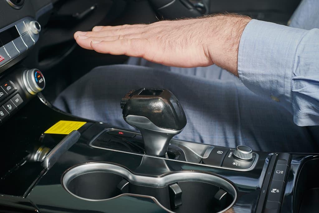 Kia Fujitsu Handflächenscanner © Kia Motors Australia & Fujitsu