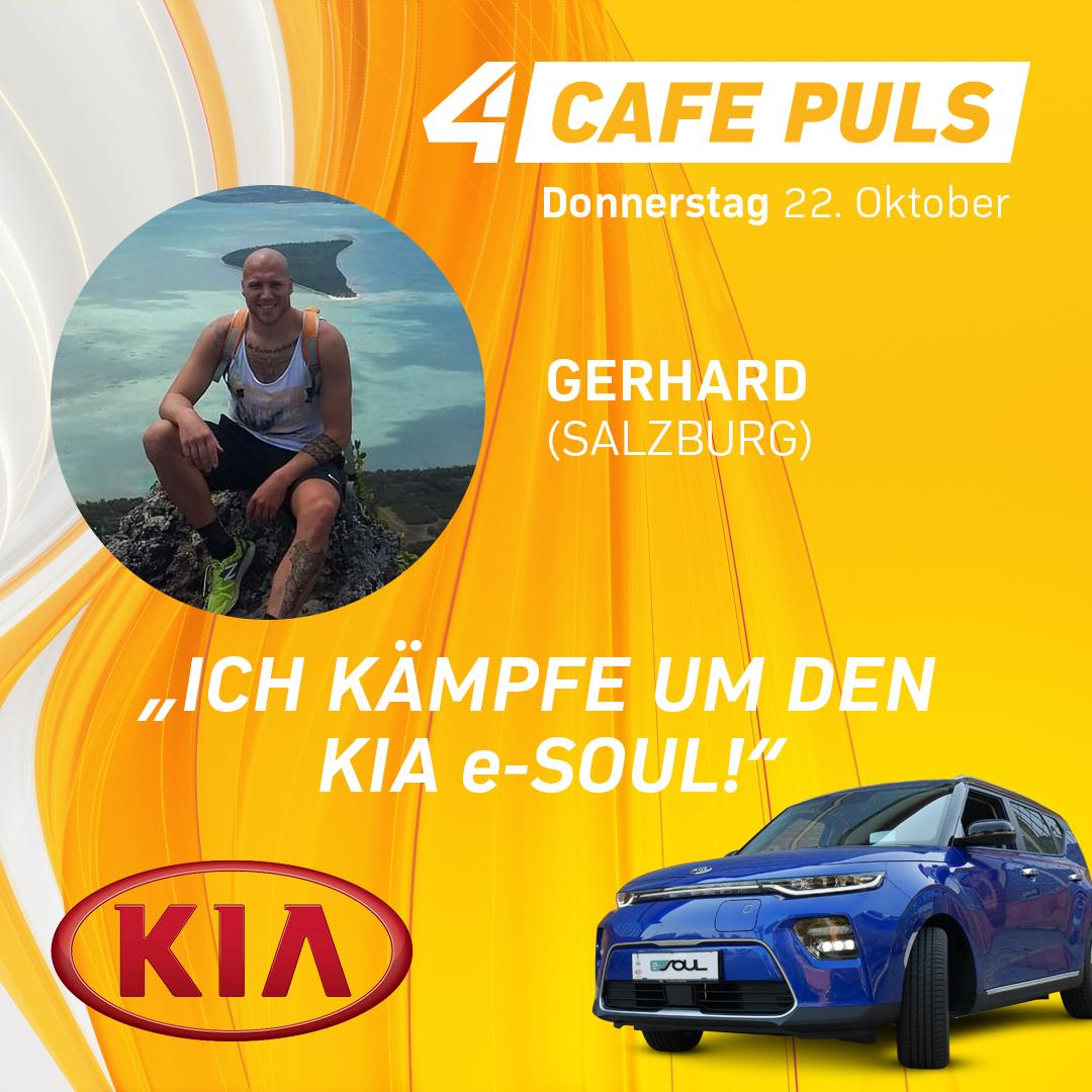 Kandidat Gerhard aus Salzburg