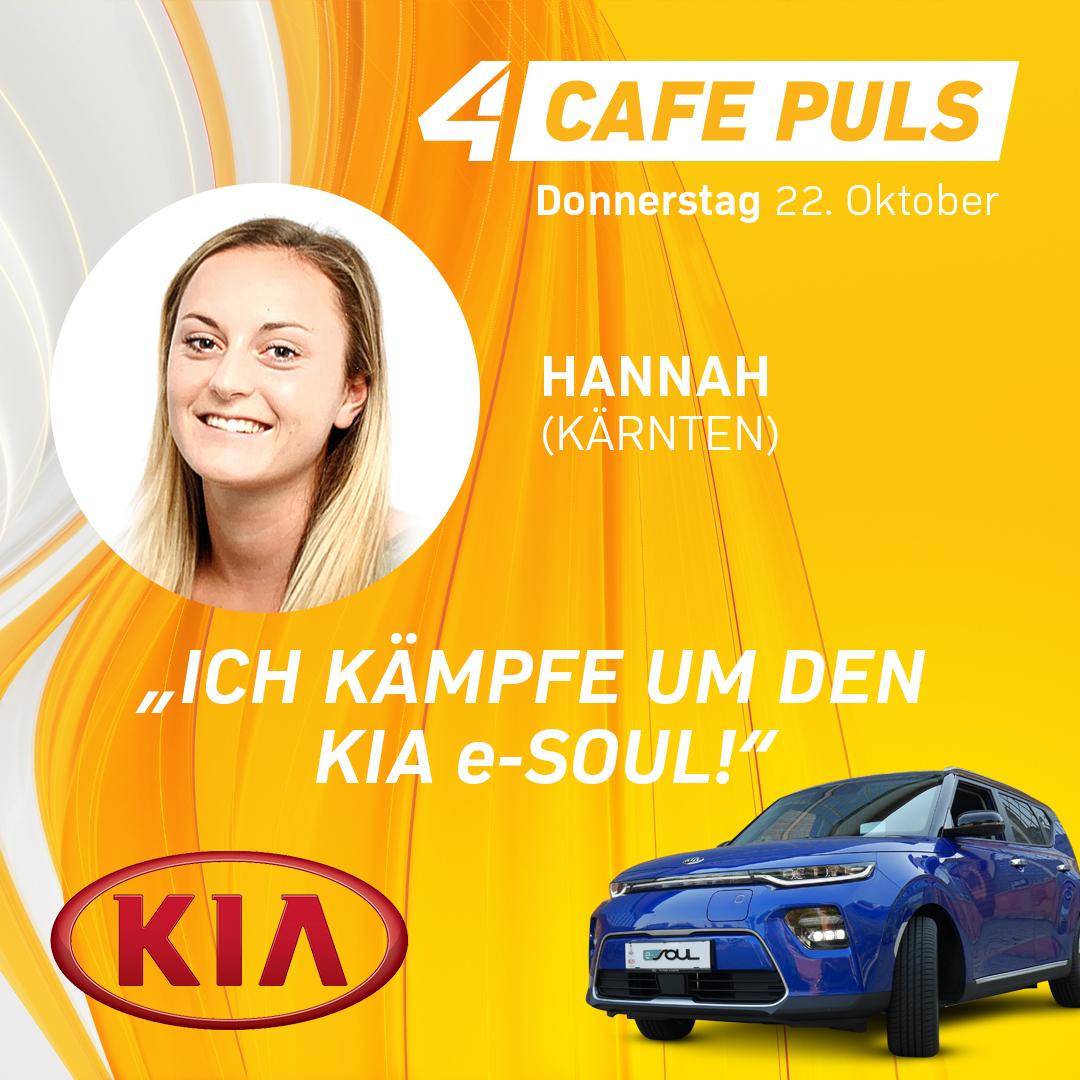 Kandidatin Hannah aus Kärnten