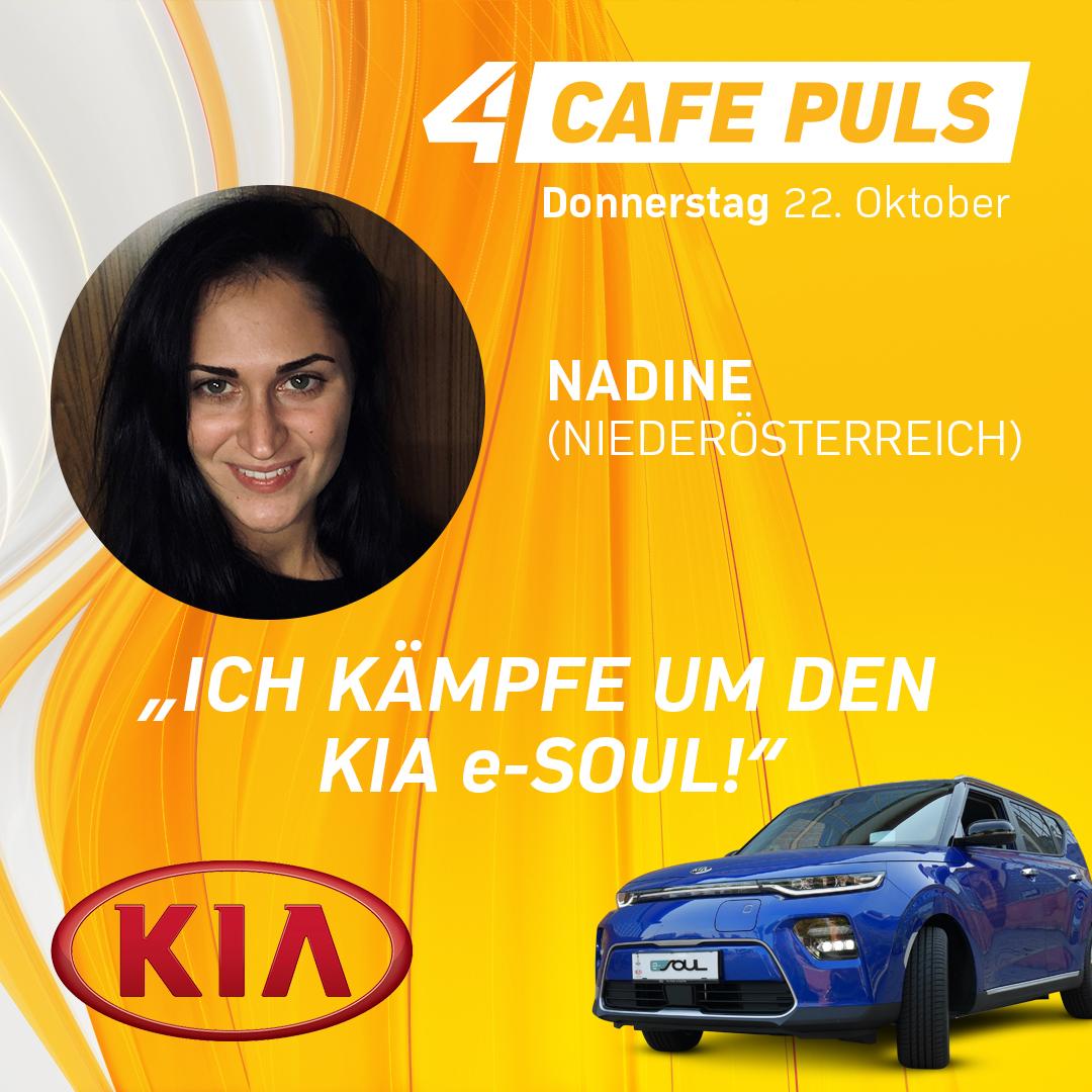 Kandidatin Nadine aus Niederösterreich
