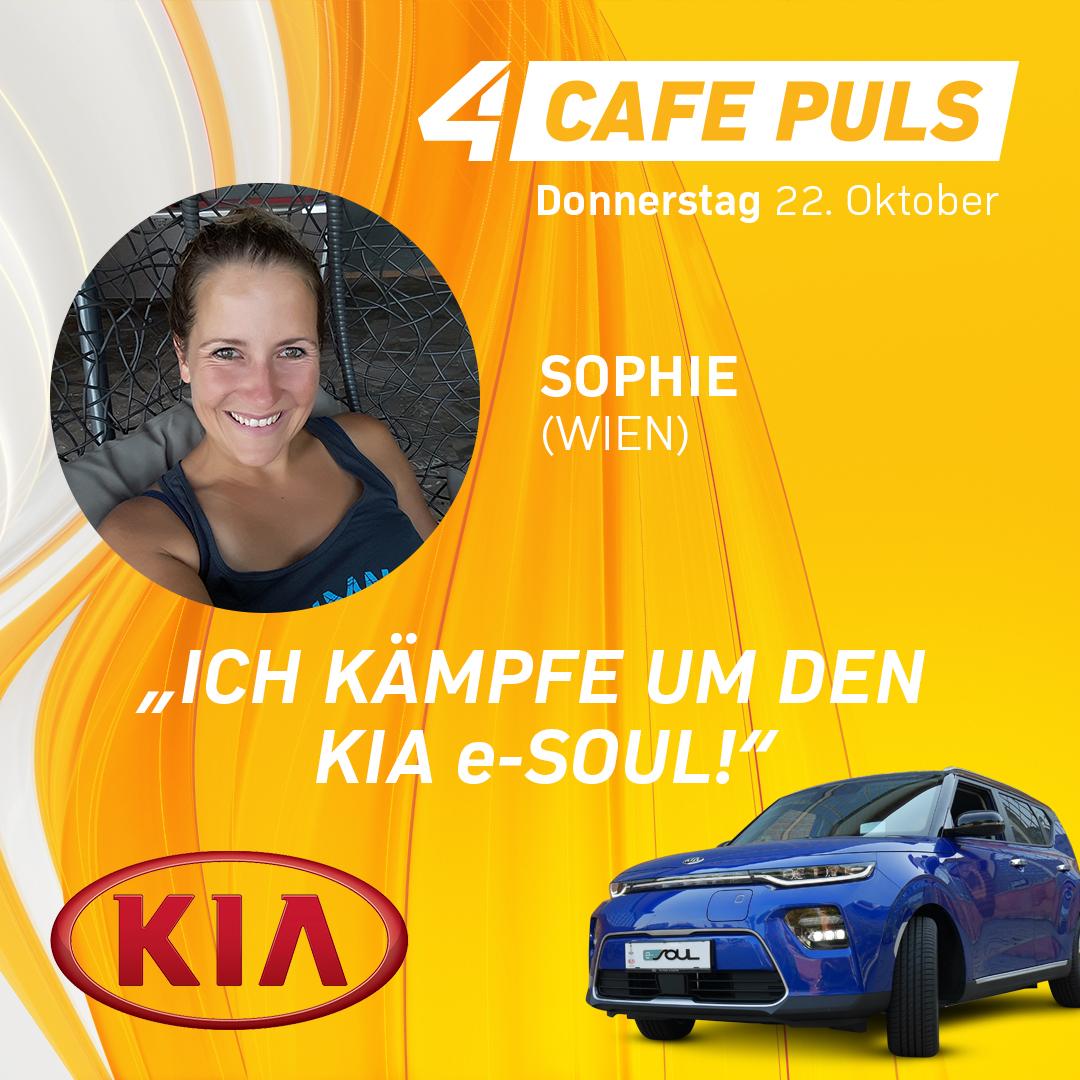 Kandidatin Sophie aus Wien