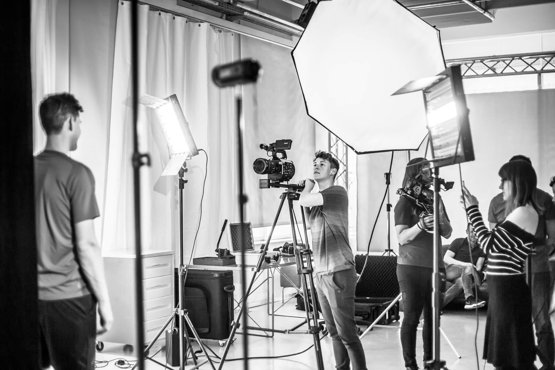 Dominic Thiem im Studio